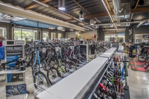 Newbury Bicycle Shop - Retail Construction by Commercial General Contractor H.W. Holmes, Inc.