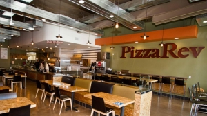 Restaurant Renovations/Construction - PizzaRev in Ventura - H.W. Holmes, Inc. Commercial General Contractor