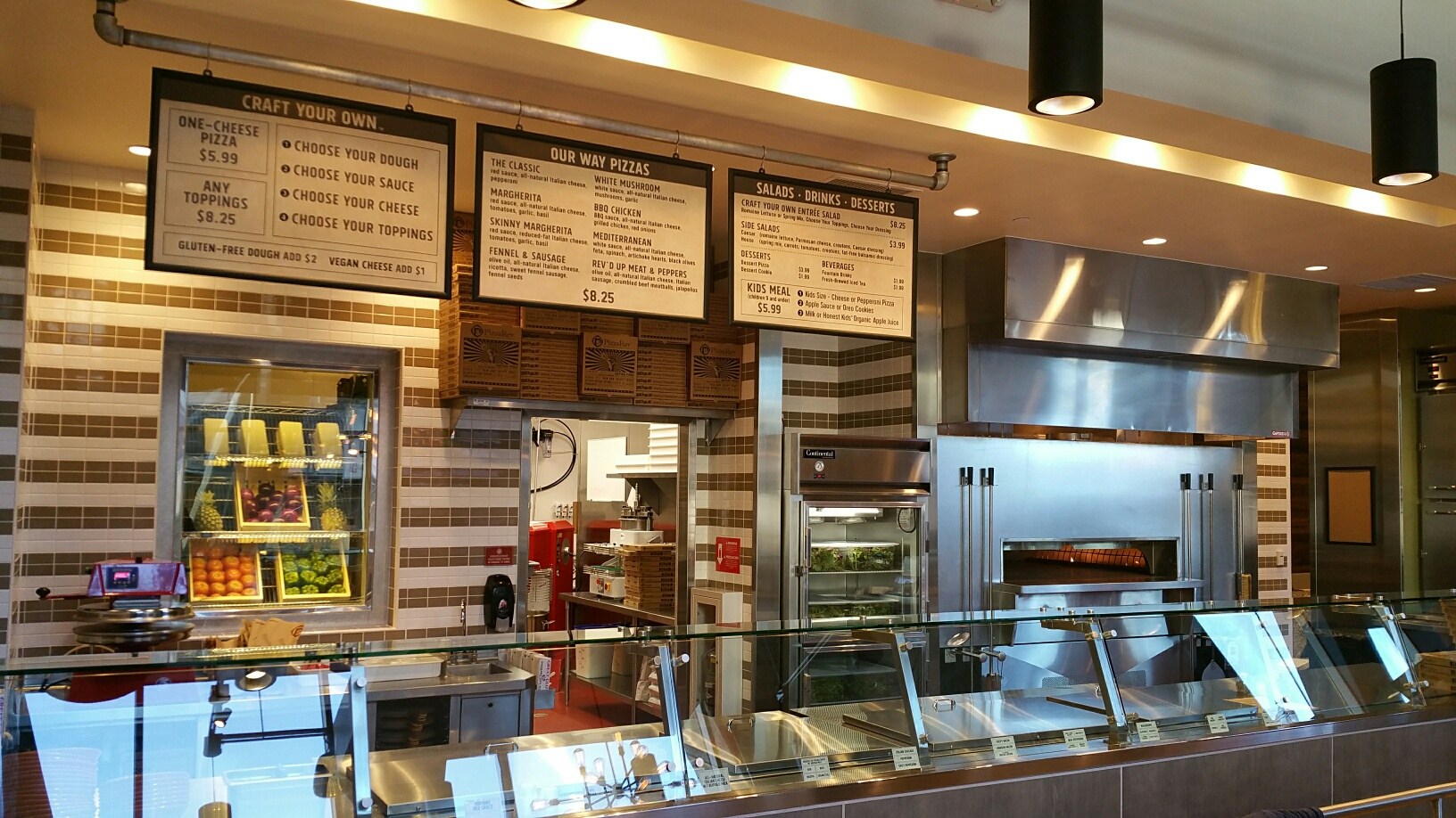 Restaurant remodel by H.W. Holmes Inc. - Pizza Rev
