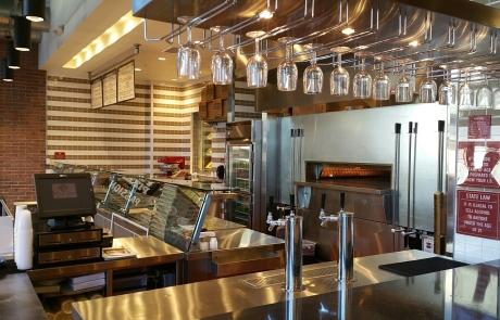Pizza Rev - Ventura CA - open kitchen design by H.W. Holmes, Inc.