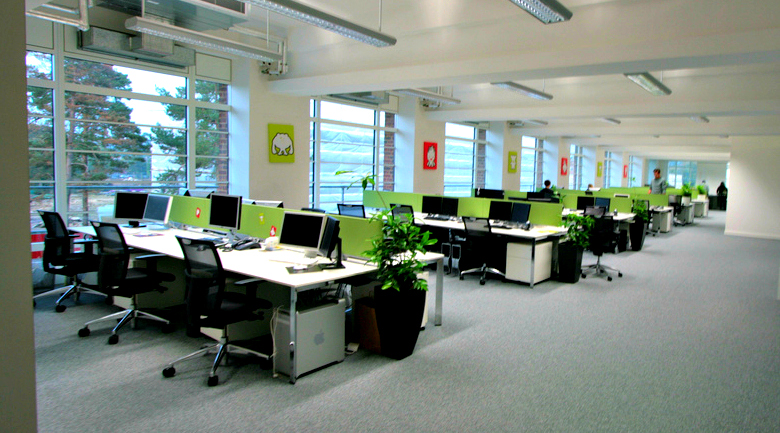 The Open Office Space Is Not Dead - H.W. Holmes, Inc.
