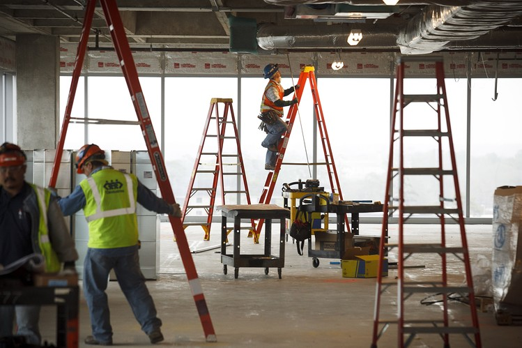 Los Angeles Office Construction Booming   HW Holmes, Inc.